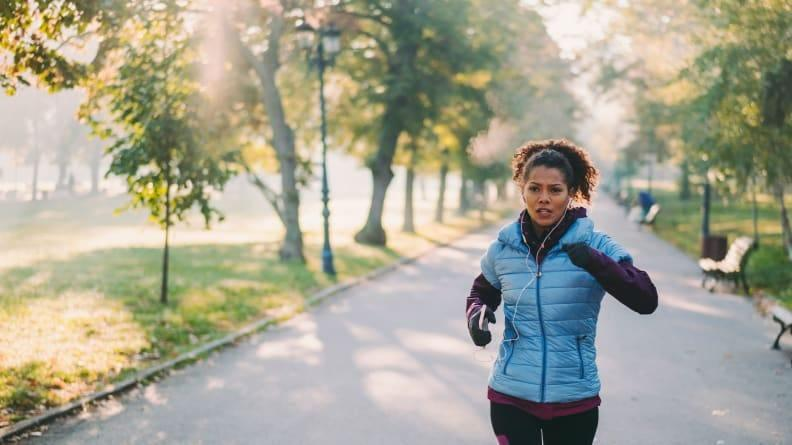 To really get your heart rate up, start running.