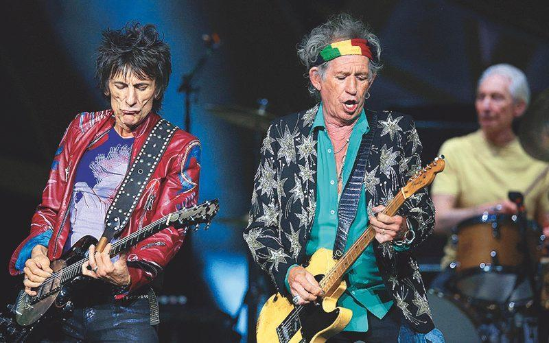 keith richards and ronnie wood - Graham Denholm/WireImage