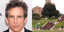 """<p><strong>University of California, Los Angeles </strong></p><p> Stiller enrolled as a film student at UCLA, but after nine months he left school to move back to New York City, his hometown. """"I was the guy who dropped out and moved back in with his parents,"""" Stiller said in a 2016 interview. </p>"""