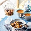 """<p>A toasty nut surrounded in a crisp, buttery caramel. Add a sprinkle of flaked salt as soon as you have coated in the caramel, if you like.</p><p><strong>Recipe: <a href=""""https://www.goodhousekeeping.com/uk/christmas/christmas-recipes/a37820062/buttered-brazils/"""" rel=""""nofollow noopener"""" target=""""_blank"""" data-ylk=""""slk:Buttered Brazils"""" class=""""link rapid-noclick-resp"""">Buttered Brazils</a></strong></p>"""