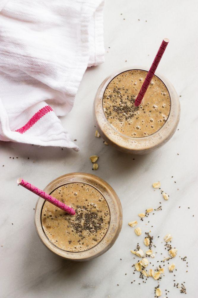"""<p>When you need a little extra pep in your step.</p><p><em><a href=""""http://www.littlebroken.com/2016/10/18/coffee-banana-smoothie-with-oats-and-chia/"""" rel=""""nofollow noopener"""" target=""""_blank"""" data-ylk=""""slk:Get the recipe from Little Broken »"""" class=""""link rapid-noclick-resp"""">Get the recipe from Little Broken »</a></em></p>"""