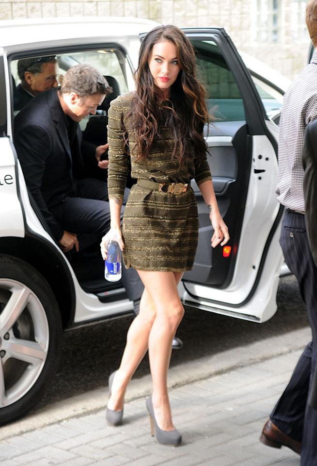 Megan Fox seen during the 35th Toronto International Film Festival on September 10, 2010 in Toronto, Ontario, Canada.