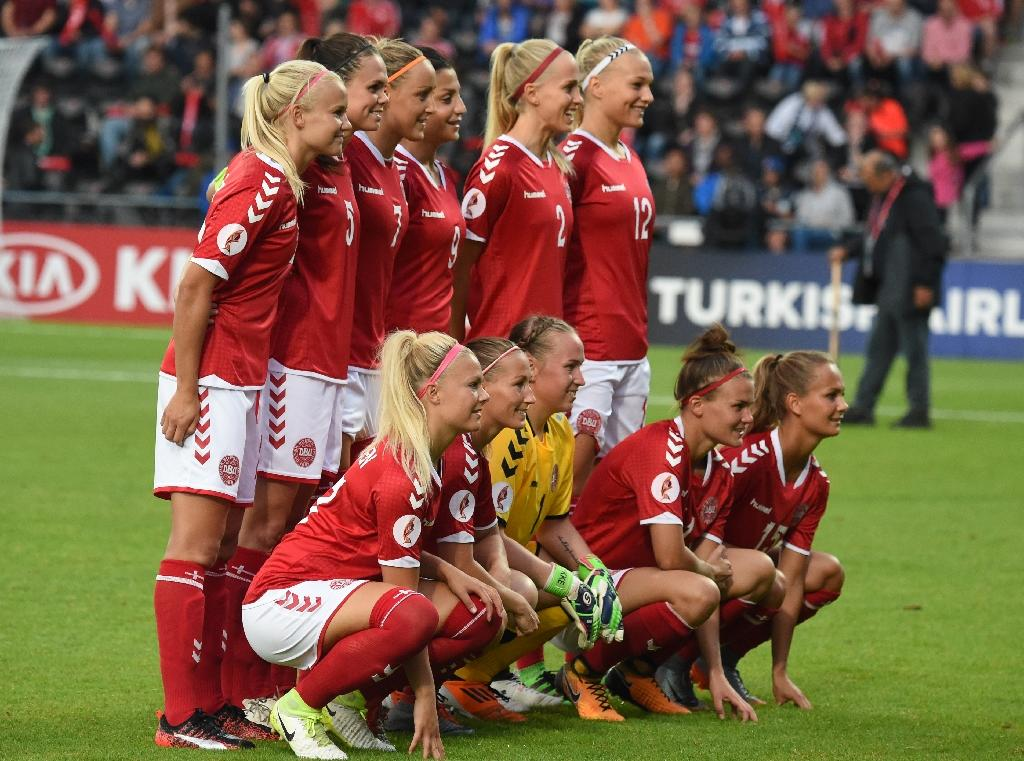 Denmark are hoping for a fairytale in the women's Euro quarter-finals (AFP Photo/DANIEL MIHAILESCU)