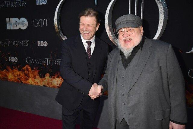 Sean Bean, George R. R. Martin