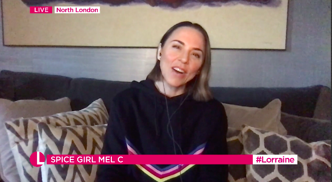 Mel C has said she will do everything she can to get Victoria Beckham to reunite with the Spice Girls. (ITV)