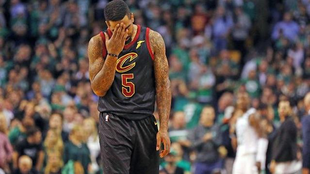 J.R. Smith steht mit den Cleveland Cavaliers in den NBA Finals gegen die Golden State Warriors