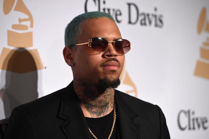 US singer Chris Brown's 2009 conviction for assaulting his then-partner pop star Rihanna means he could be refused entry to New Zealand, where he was to perform in Auckland (AFP Photo/Jason Merritt)