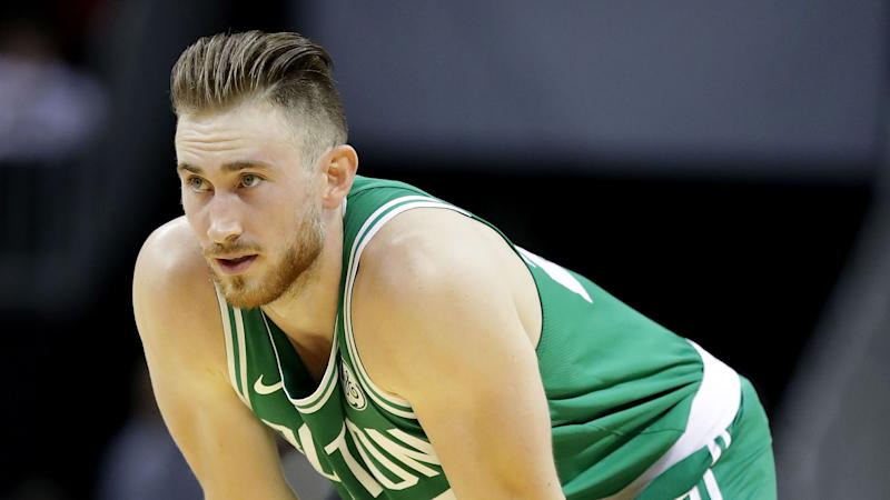 Gordon Hayward Suffers Broken Leg In Celtics Debut