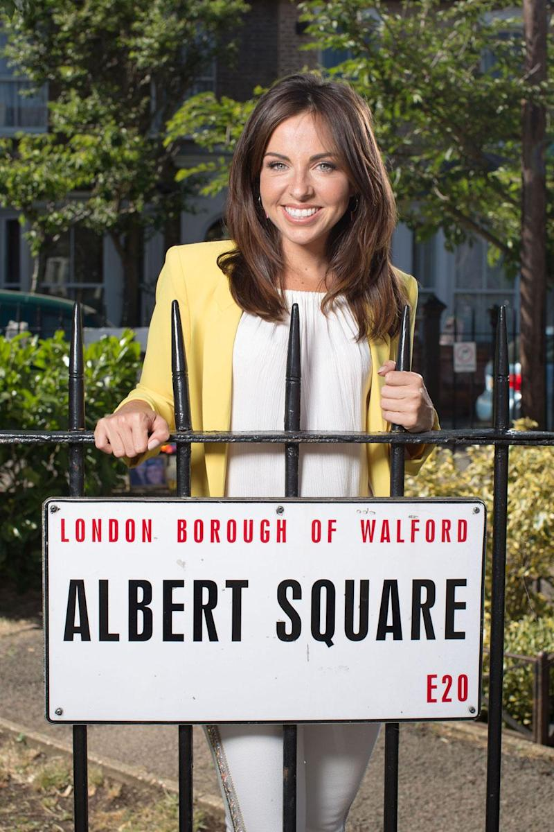 She's back! Louisa Lytton is returning to EastEnders as Ruby Allen (BBC)