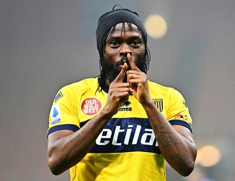 Gervinho scored his first goals of the season for Parma