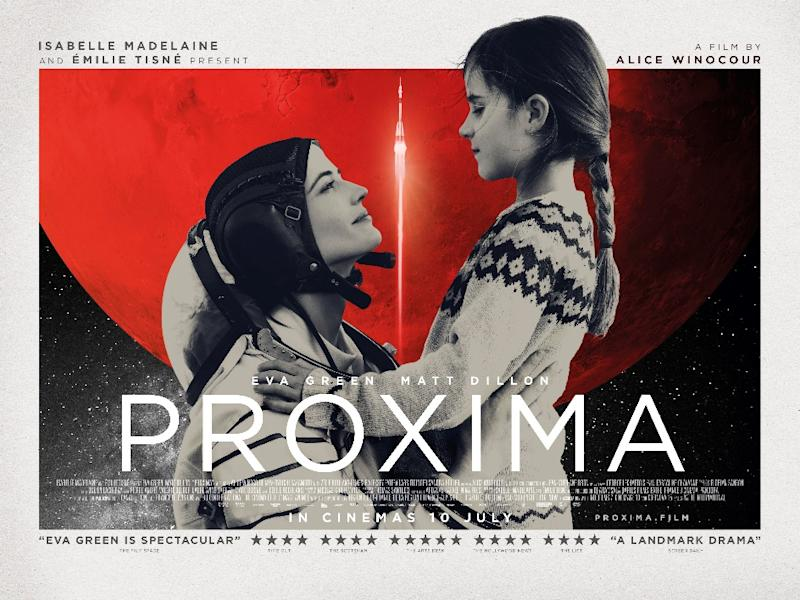 The UK for Proxima with its new 10 July release date. (Picturehouse Entertainment)