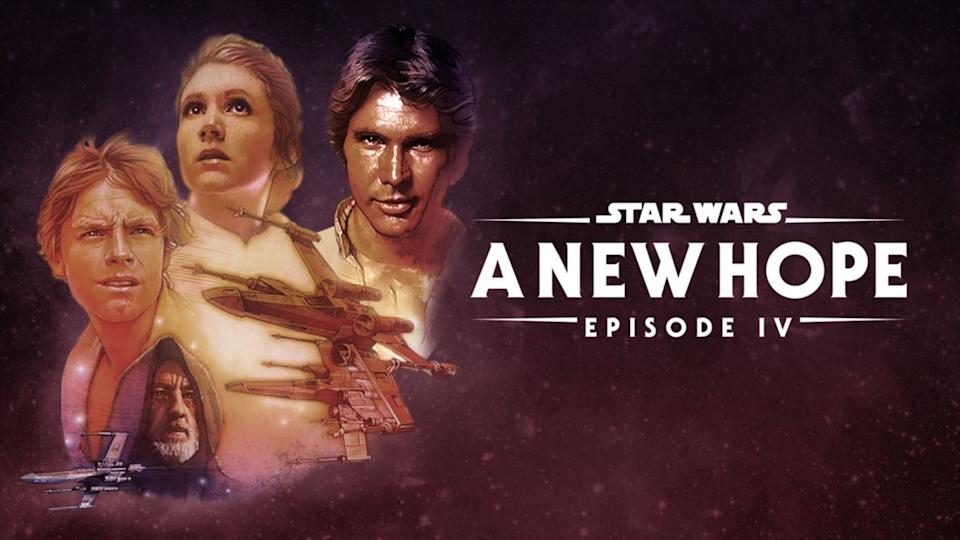 Who knew how prophetic those words — A New Hope — would turn out to be? The one and only.(Photo: Disney+)