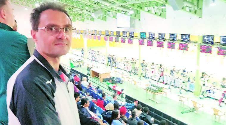 ISSF world cup, Goran Maksimovic, shooting world cup 2019, Japan shooting world cup 2019, issf japan coach, Goran Maksimovic, Japan gun laws, Goran Maksimovic japan coach, indian express, latest news