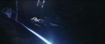 <p>Kylo Ren will be headed into battle with this new starfighter, a new ship designed with elements of Darth Vader's original TIE fighter, the Advance X1.<br>(Credit: Lucasfilm) </p>