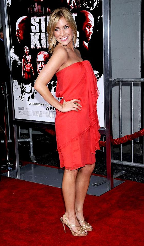 """Laguna Beach's"" Kristin Cavallari looked sexy in red ruffles. Jeffrey Mayer/<a href=""http://www.wireimage.com"" target=""new"">WireImage.com</a> - April 3, 2008"