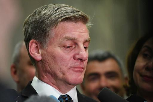 <p>Former New Zealand PM Bill English resigns</p>