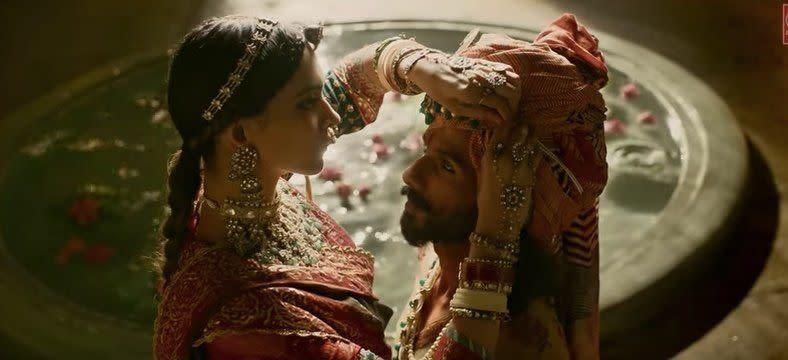 """A scene from """"Padmaavat."""" (Photo: Viacom18 Motion Pictures YouTube)"""