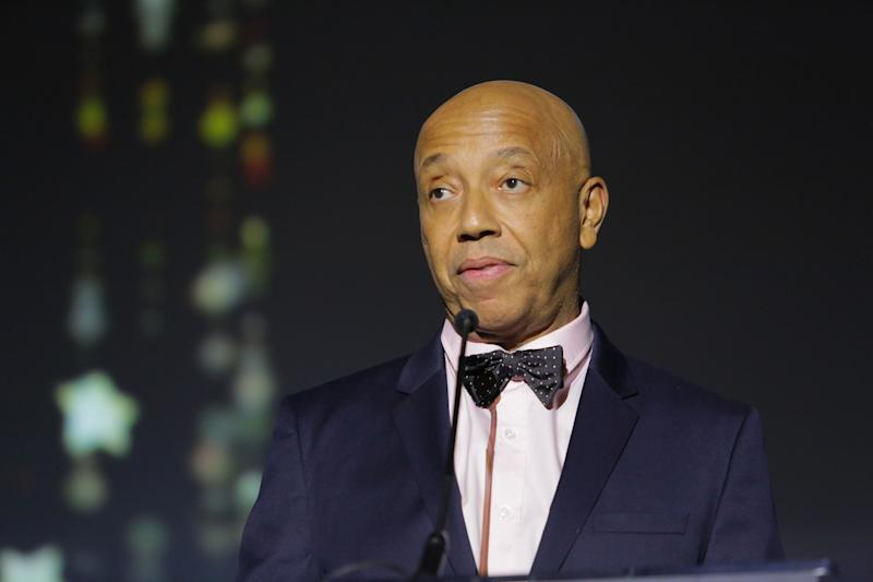 Music producer Russell Simmons speaks onstage at the 2017 Make a Wish Gala on November 9, 2017 in Los Angeles, California. (Photo: Tiffany Rose via Getty Images)