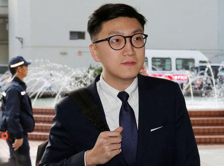 Hong Kong pro-independence protest leader pleads guilty to assault of police officer