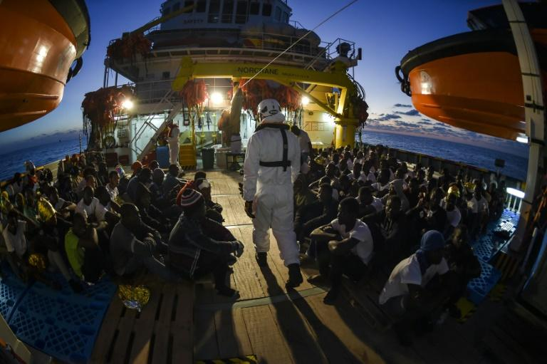United Nations agency: survivors says some 126 migrants died in wreck
