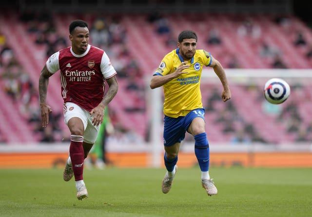 Gabriel, left, has impressed after recovering from a knee injury