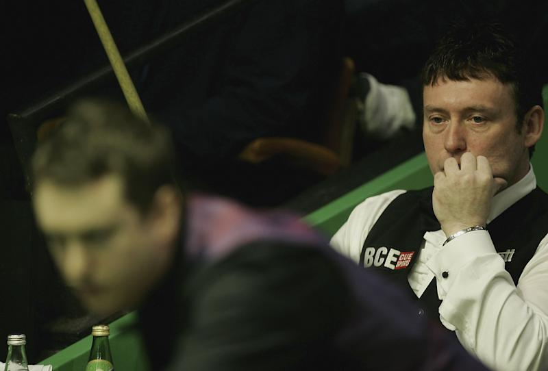 Jimmy White MBE at the Crucible Theatre in 2006. (Credit: Getty Images)