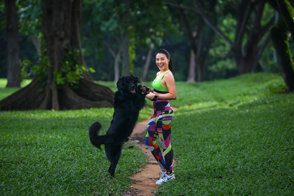 Singapore #Fitspo of the Week: Carla Dunareanu (PHOTO: Cheryl Tay)