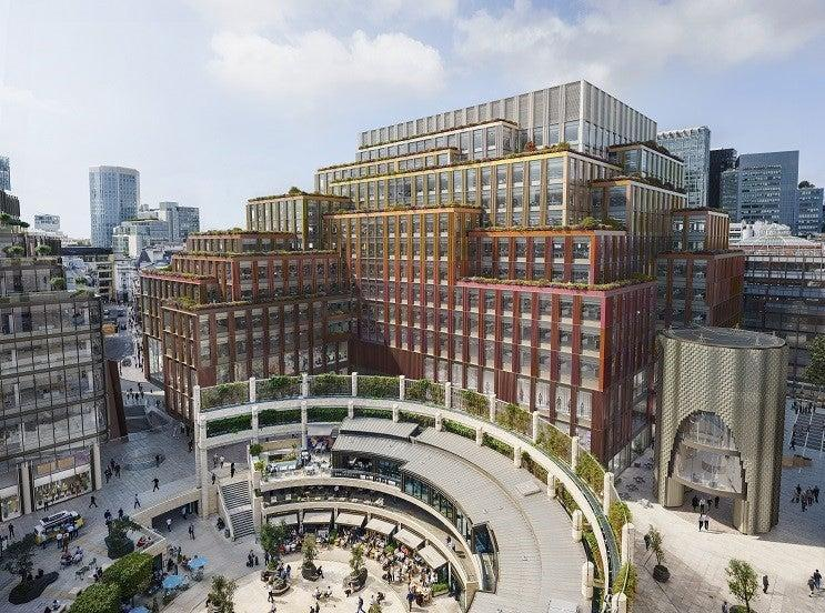 British Land is creating new offices at 1 Broadgate (british land)