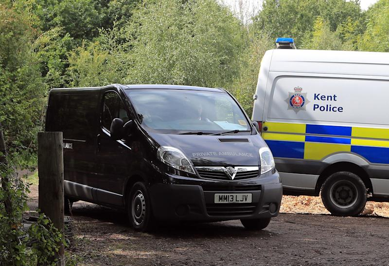 <strong>A private ambulance in attendance at an incident in Kent.</strong> (PA Wire/PA Images)
