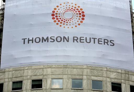 Thomson Reuters profit flat amid major reorganisation