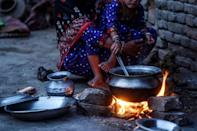 Many families have to choose between food and vital HIV medicine in the town of Rato Dero in Pakistan southern Sindh province