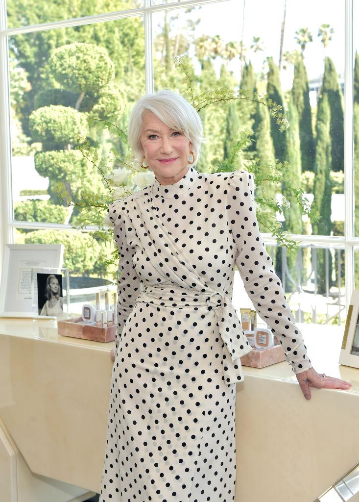 Helen Mirren is on a mission to empower women in her latest campaign for L'Oréal. (Photo by Stefanie Keenan/Getty Images for L'Oréal Paris )