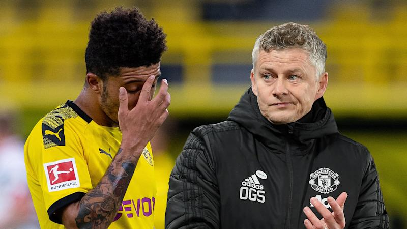 'Not everyone can spend millions and millions' - Solskjaer delivers transfer update amid Manchester United pursuit of Sancho