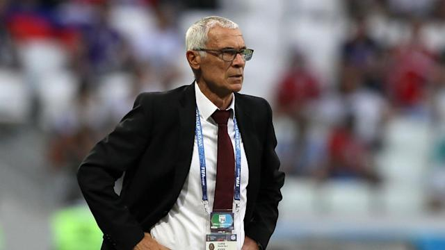 The Pharaohs crashed out of the World Cup with three defeats from three, but their manager has stopped short of confirming his departure