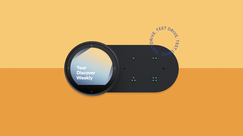 Spotify Car Thing concept