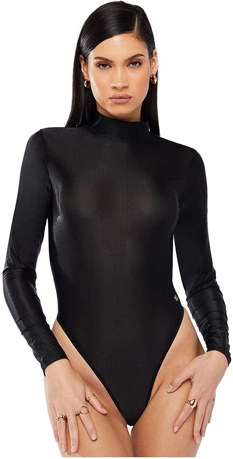 <p><span>Savage X Fenty Savage Not Sorry Long-Sleeve Open-Back Glissenette Teddy</span> ($85)</p>