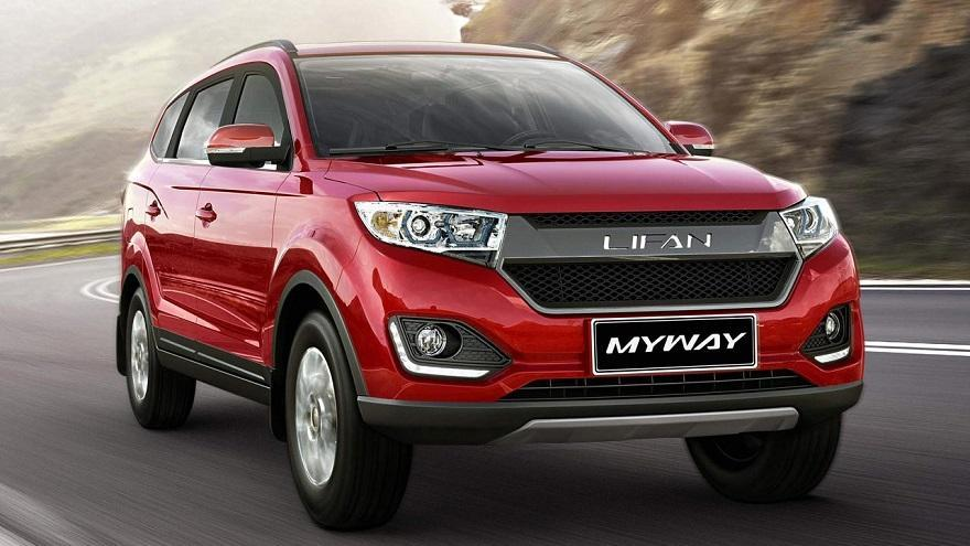 Lifan Myway, un familiar de 7 asientos.