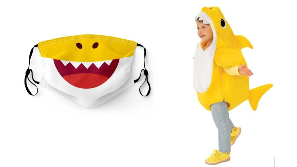 They've danced to the song, now they can look the part of Baby Shark!