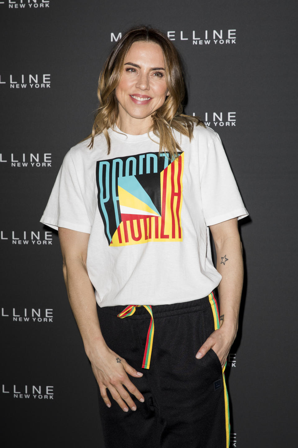 LONDON, ENGLAND - APRIL 30: Mel C attends the Jourdan Dunn X Maybelline Party at Covent Garden on April 30, 2019 in London, England. (Photo by Tristan Fewings/Getty Images)