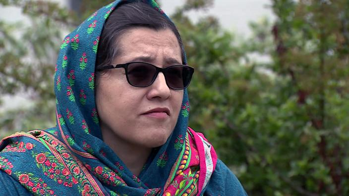 Orzala Nemat is worried the water will run out