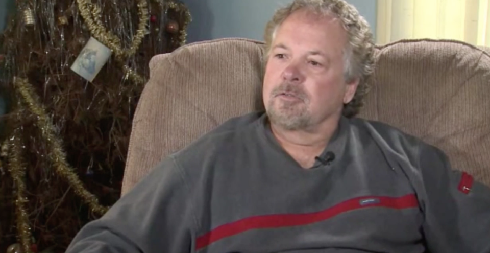 Rich Olson said his father, Neil Olson, vowed to keep a Christmas tree up until all of his family was under one roof again. (Photo: WSAW)