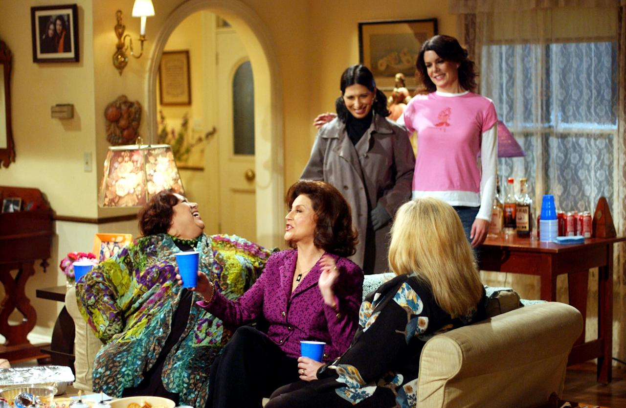 <p>The Gilmore household is an eclectic mix of styles that represents the quirky ladies who live there. But in the decor, as in the family, it's Rory and Lorelai who are the heart of it all - can you spot their picture hanging on the wall?</p>