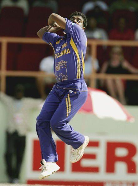 Muralitharan is the second highest wicket-taker in the World Cup after Glenn McGrath.