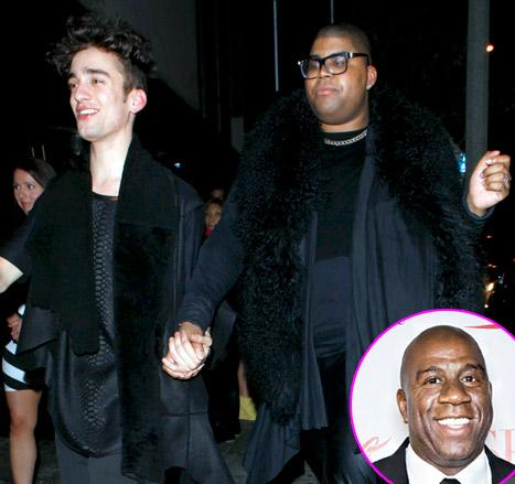 "Magic Johnson Opens Up About Gay Son EJ: ""I Love Him So Much"""