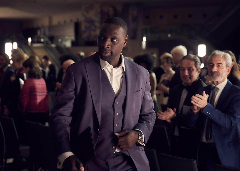 Diop is a master of disguise, taking advantage of his ability to stand out, and blend inNetflix