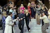 <p><strong>Her Legally Blonde angle: </strong></p><p>Accused of murdering her husband, Brooke and Elle develop a trust and Elle learns she is innocent because Brooke was having liposuction but does not want this to be disclosed in court. Elle keeps her secret and tries to crack the case another way.</p>