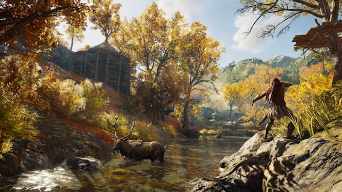 """The settings of """"Assassin's Creed: Odyssey"""" can have one dreaming of a life beyond the indoors."""