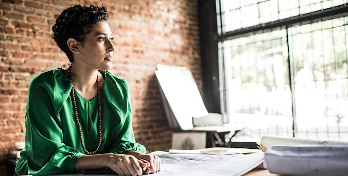 Many women tend to work jobs to earn a paycheck, not paying attention to their long-term professional goals and how they would like to see themselves grow.