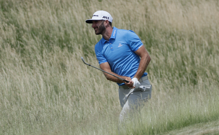 Dustin Johnson is the prohibitive favorite heading into the 117th U.S. Open. (AP)
