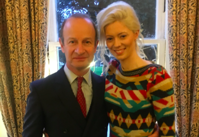 Former Ukip leader Henry Bolton confirms he is back with girlfriend Jo Marney - and may MARRY her